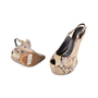 Authentic Pre Owned Giuseppe Zanotti Python Slingback Sandals (PSS-049-00067) - Thumbnail 1