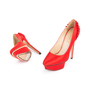 Authentic Second Hand Charlotte Olympia Paloma Fan Pleat Satin Pumps (PSS-049-00068) - Thumbnail 1