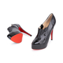Authentic Second Hand Christian Louboutin Moro Black Ankle Boots (PSS-049-00069) - Thumbnail 1