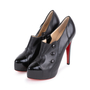 Authentic Second Hand Christian Louboutin Moro Black Ankle Boots (PSS-049-00069) - Thumbnail 3