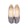 Authentic Pre Owned Christian Louboutin Metallic Sequinned Daffodile Pumps (PSS-049-00072) - Thumbnail 0
