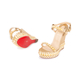Authentic Second Hand Christian Louboutin Cataclou 140 Wedges (PSS-049-00076) - Thumbnail 1