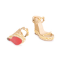 Authentic Second Hand Christian Louboutin Cataclou 140 Wedges (PSS-049-00076) - Thumbnail 2