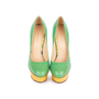 Authentic Second Hand Charlotte Olympia Dolly Python Pumps (PSS-049-00079) - Thumbnail 0