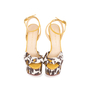 Authentic Pre Owned Charlotte Olympia Leopard Print Wedge Sandals (PSS-049-00080) - Thumbnail 0