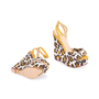 Authentic Pre Owned Charlotte Olympia Leopard Print Wedge Sandals (PSS-049-00080) - Thumbnail 2