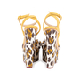Authentic Pre Owned Charlotte Olympia Leopard Print Wedge Sandals (PSS-049-00080) - Thumbnail 5