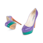 Authentic Second Hand Brian Atwood Hamper Elaphe Platform Pumps (PSS-049-00081) - Thumbnail 1