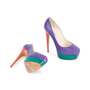 Authentic Second Hand Brian Atwood Hamper Elaphe Platform Pumps (PSS-049-00081) - Thumbnail 2