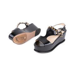 Prada black platform sandals 2?1548843254
