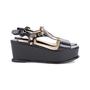 Authentic Second Hand Prada Black Platform Sandals (PSS-049-00084) - Thumbnail 4