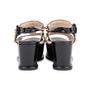 Authentic Second Hand Prada Black Platform Sandals (PSS-049-00084) - Thumbnail 5