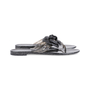Authentic Second Hand Chanel Black Camellia Thong Sandals (PSS-049-00086) - Thumbnail 4