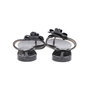 Authentic Second Hand Chanel Black Camellia Thong Sandals (PSS-049-00086) - Thumbnail 5