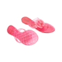 Authentic Pre Owned Chanel Pink Camellia Thong Sandals (PSS-049-00087) - Thumbnail 2