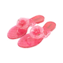 Authentic Pre Owned Chanel Pink Camellia Thong Sandals (PSS-049-00087) - Thumbnail 3