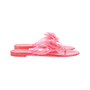 Authentic Pre Owned Chanel Pink Camellia Thong Sandals (PSS-049-00087) - Thumbnail 4