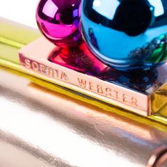 Sophia webster vivi rose gold clutch 2?1548843410