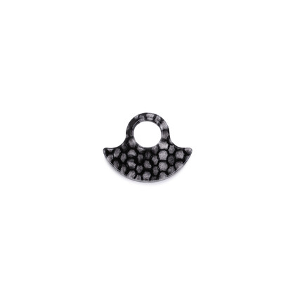 Authentic Second Hand MM6 Plexi Mohair Ring (PSS-599-00019)