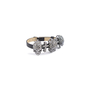 Authentic Pre Owned Butler and Wilson Skull and Cross Leather Strap Bracelet (PSS-599-00024) - Thumbnail 1
