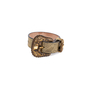 Authentic Pre Owned Alexander McQueen Cracked-Leather Bracelet (PSS-599-00025) - Thumbnail 0
