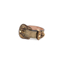 Authentic Pre Owned Alexander McQueen Cracked-Leather Bracelet (PSS-599-00025) - Thumbnail 3