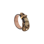 Authentic Pre Owned Alexander McQueen Cracked-Leather Bracelet (PSS-599-00025) - Thumbnail 4