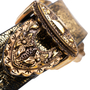 Authentic Pre Owned Alexander McQueen Cracked-Leather Bracelet (PSS-599-00025) - Thumbnail 5