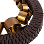 Authentic Pre Owned Marni Metal Rings and Leather Ribbon Necklace (PSS-599-00028) - Thumbnail 2