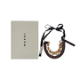 Authentic Second Hand Marni Metal Rings and Leather Ribbon Necklace (PSS-599-00028) - Thumbnail 4