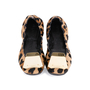 Authentic Second Hand Burberry Gold Plaque Leopard Flats (PSS-586-00002) - Thumbnail 0