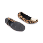 Authentic Pre Owned Burberry Gold Plaque Leopard Flats (PSS-586-00002) - Thumbnail 2