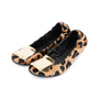 Authentic Second Hand Burberry Gold Plaque Leopard Flats (PSS-586-00002) - Thumbnail 3