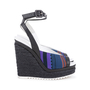 Authentic Pre Owned Hermès Tribal Espadrille Wedges (PSS-586-00003) - Thumbnail 4