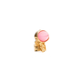 Authentic Second Hand Yves Saint Laurent Pink Arty Oval Ring (PSS-029-00037) - Thumbnail 1