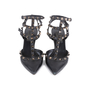 Authentic Second Hand Valentino Noir Rockstud Pumps (PSS-200-01617) - Thumbnail 0