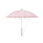 Authentic Second Hand Chanel Pink Logo Parasol (PSS-200-01622) - Thumbnail 2