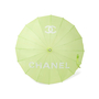 Authentic Second Hand Chanel Green Logo Parasol (PSS-200-01623) - Thumbnail 1