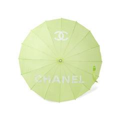 Chanel green logo parasol 2?1548927901