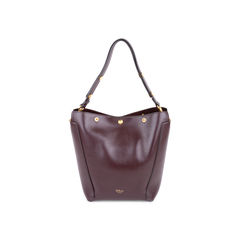 Small Camden Press Stud Leather Hobo