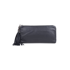 Tassel Zip Clutch