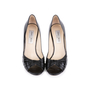 Authentic Second Hand Jimmy Choo Distressed Patent Peep Toe Pumps (PSS-506-00030) - Thumbnail 0