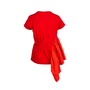 Authentic Pre Owned Dries Van Noten Side-Ruffled Top (PSS-414-00008) - Thumbnail 1
