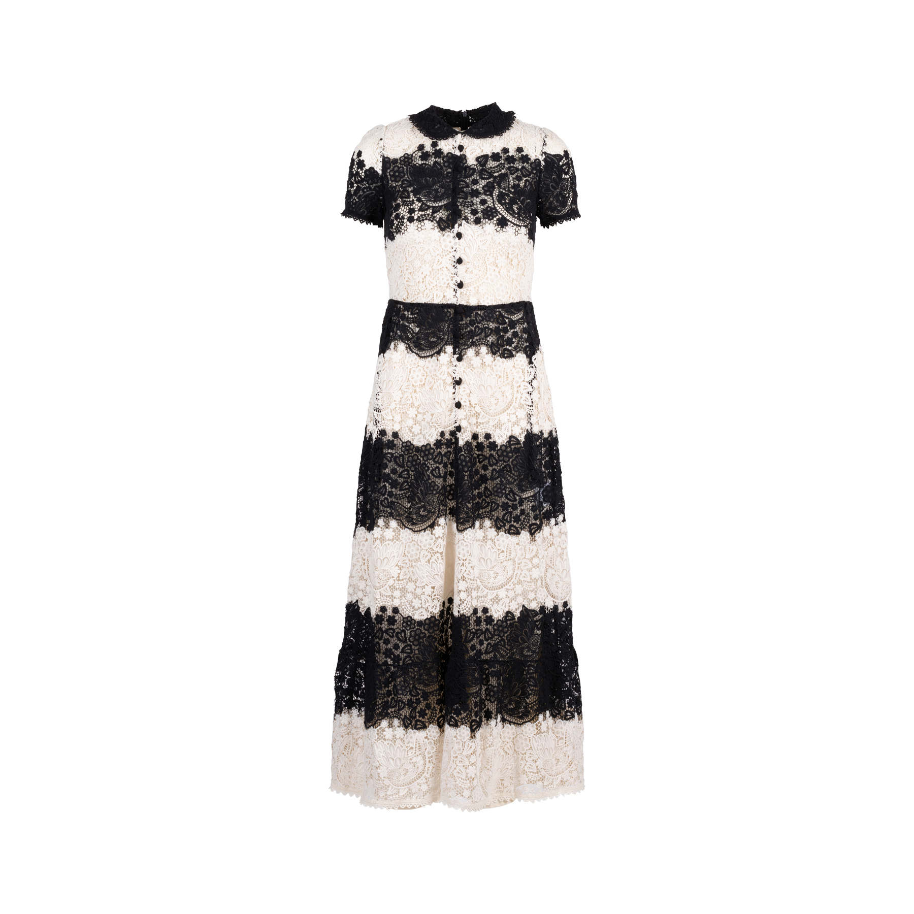 1654747a55d Authentic Second Hand RED Valentino Floral Lace Crochet Dress  (PSS-414-00009)