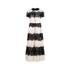 Floral Lace Crochet Dress