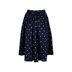 Comme des garcons polka dot skirt 2?1549513485