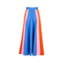 Authentic Second Hand Peter Pilotto Colour Block Cotton Skirt (PSS-414-00019) - Thumbnail 1