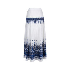 Sacai printed pleated skirt 2?1549513375