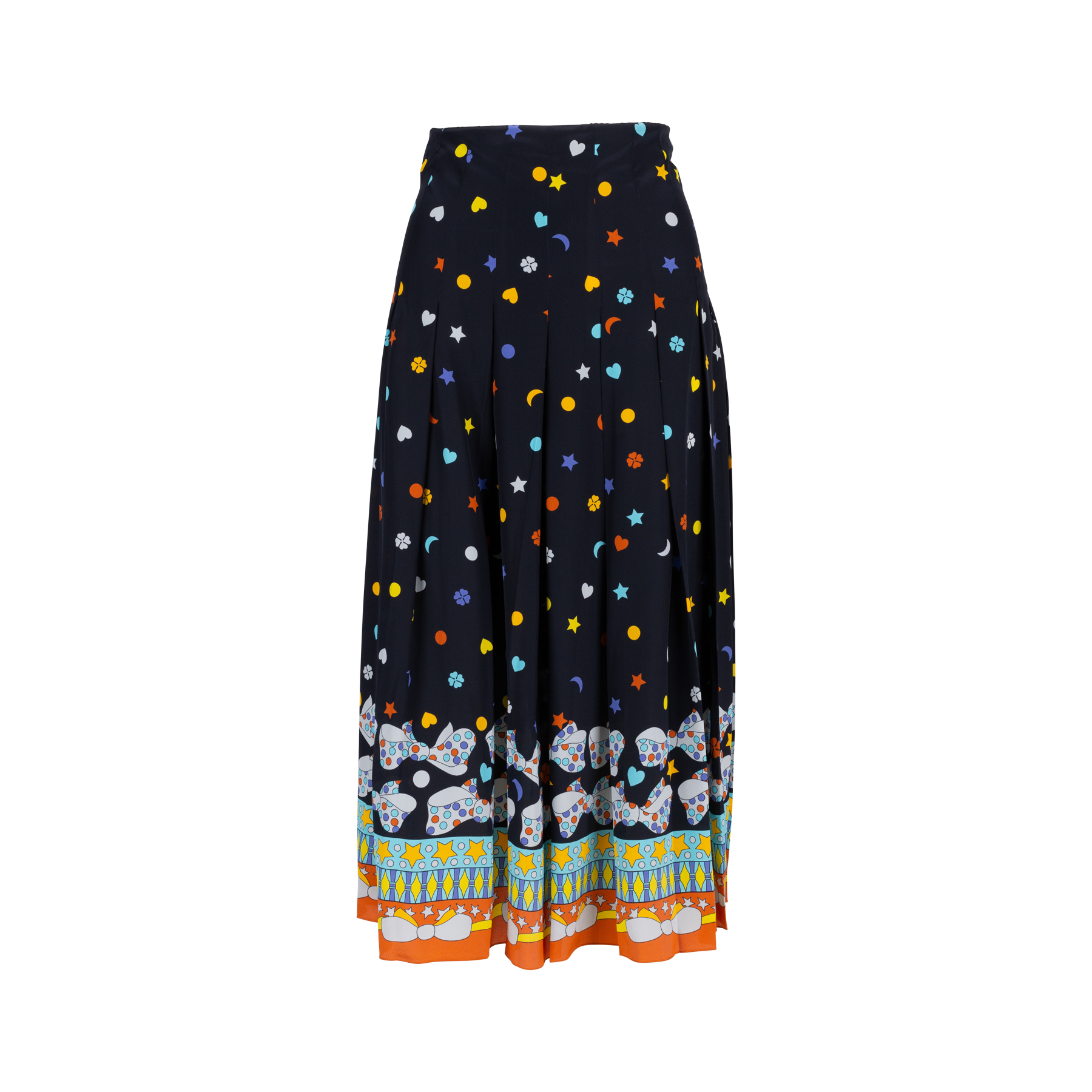 3c533ed52cdd Authentic Second Hand Gucci Printed Pleated Skirt (PSS-414-00026 ...