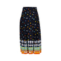 Authentic Second Hand Gucci Printed Pleated Skirt (PSS-414-00026) - Thumbnail 1